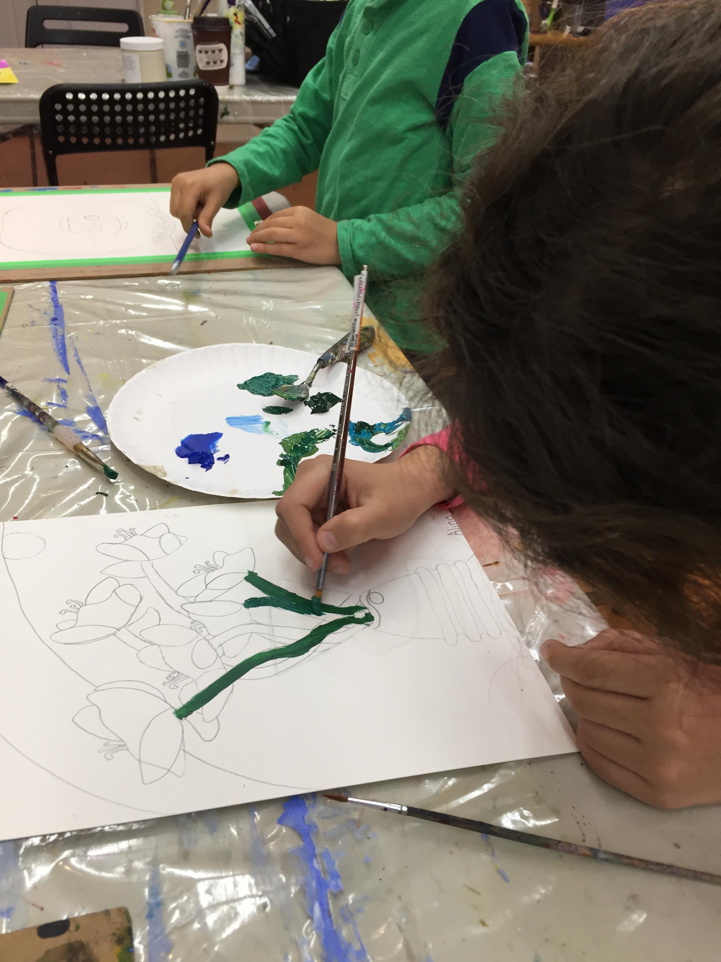 art camp art class summer camp kids art lesson confidante kids self steeme