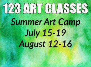 Art & Yoga Summer Camp @ 123 Art Classes